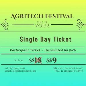 Single Day Ticket – Discount