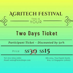 Two Days Ticket – Discount